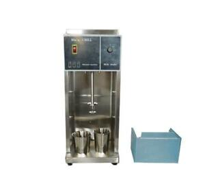 110V Commercial Electric Auto Ice Cream Mixing Machine Maker Shaker Blender Mixer (022356)