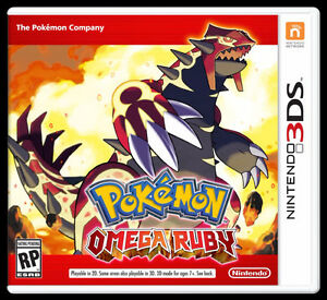Pokemon Omega Ruby & N3DSXL Case