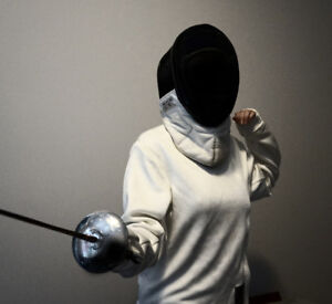 START FENCING TODAY right handed male beginners foil kit