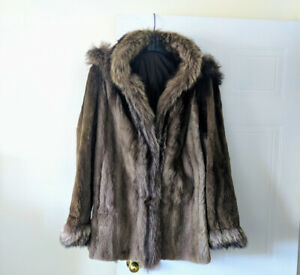 Beautiful (reversible) Raccoon Fur Coat