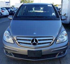 2007 Mercedes B200, Low kilometers (143K) with safety.