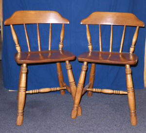 KITCHEN CHAIRS: Solid Maple