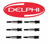 Set of 6 ignition coil DELPHI BMW X3 2007 TO 2010