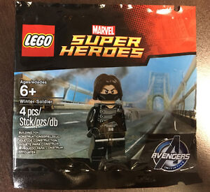 Rare - Minifigurine Lego Winter Soldier