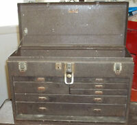 MACHINIST TOOLS & KENNEDY TOOL BOX
