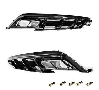 Für Mercedes-Benz A-Klasse W176 A45 AMG Look Heckschürze Stoßstange Diffusor A45