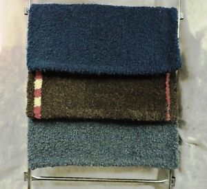 HAND HOOKED SADDLE PADS