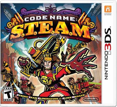 Nintendo Code Name Steam 3ds No Operating System