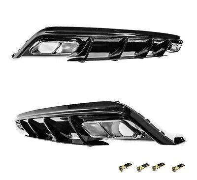 Für Mercedes-Benz A-Klasse W176 A45 AMG Look Heckschürze Stoßstange Diffusor