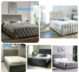 DESIGNER BEDS🛌 ALL SIZES❤️ALL COLOURS 💤 FREE DELIVERY
