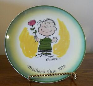 Vintage 1972 Schmid Peanuts Mother's Day Plate Kingston Kingston Area image 1