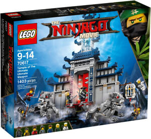 Lego Ninjago 70617 Temple of the Ultimate Ultimate Weapon Neuf