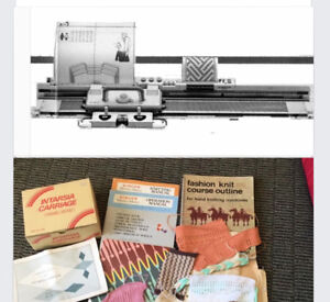 Singer  360 Knitting Machine and Ribber