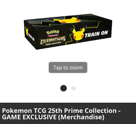 Sealed NEW .Pokemon TCG 25th Prime Collection - Exclusive Merchandise