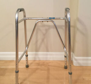 Like new adjustable walker , can deliver in city if needed