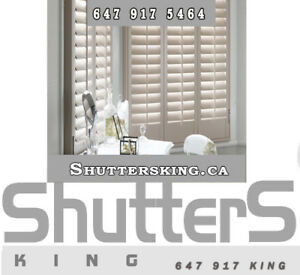 Shutters &Zebra Blinds Special sale