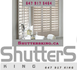 Blinds, Shades & California Shutters Special