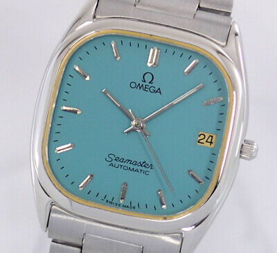 VINTAGE OMEGA SEAMASTER AUTO CAL1110 DATE MINT DIAL MEN