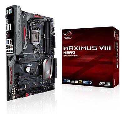ASUS ROG MAXIMUS VIII HERO LGA1151 DDR4 M.2 SATA 6Gb/s USB 3.1 Type A Type C ATX