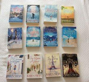 Karen Swan - large softcover books (12) - $3 each / $30 for 12