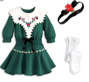 NEW IN BOX RETIRED RUTHIE'S HOLIDAY OUTFIT AMERICAN GIRL