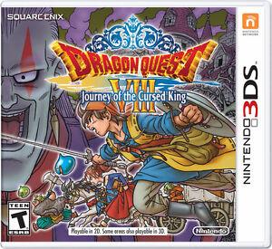 Dragon Quest 8 3DS 40$