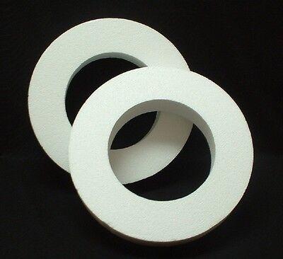 2 pc set EPS Styrofoam WREATHS 10
