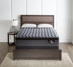 Serta® iCollection® Senna Firm Euro-Top  Queen Mattress Set