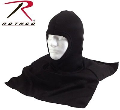303a5b4ca2f4d4 Balaclava Black Cold Weather With Dickie Neck Shoulder Warmer Rothco 5522