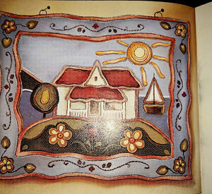 """Rug Hooking Pattern-CLAIRE""""S GIFT by Kupesic/Trottier HTF RARE!"""