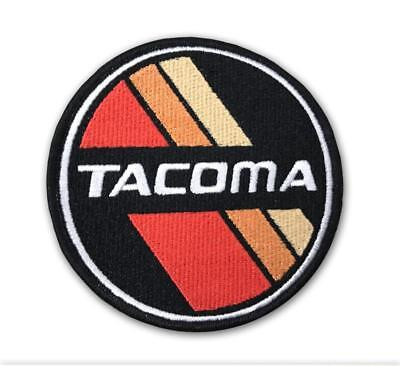 Tacoma Retro Stripes Patch