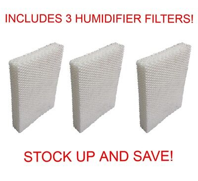 (3) Humidifier Filter Wick Replacements for Lasko Natural Cascade 1128  Replacement Wick Humidifier Filter