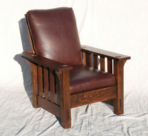 Stickley Oak Mission Chair - New!