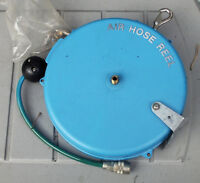 """AIR HOSE RECOILER 30 FT. 1/4"""" HOSE W ALL FITTINGS NEW $15.00"""