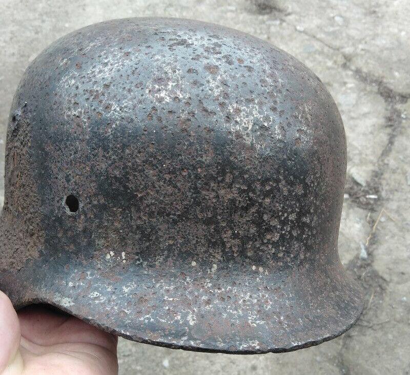 WWII German Helmet M35/66 DD