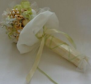 JEWELLED WEDDING BOUQUET, one-of-a-kind - WILL PERSONALIZE Belleville Belleville Area image 3