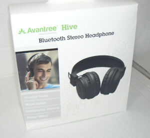 Avantree Hive-Over the Ear Bluetooth Stereo Headphones with Buil