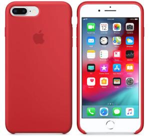 Pochette iPhone 7 Plus / 8 Plus silicone Rouge