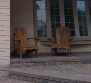 CONTENTS MOVING SALE - MUSKOKA CHAIRS