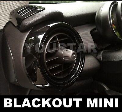 USA STOCK X8 CARBON Effect Dash Air Vent Cover Trims for MINI Cooper F55 F56 F57