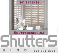 California shutters& zebra blinds special sale