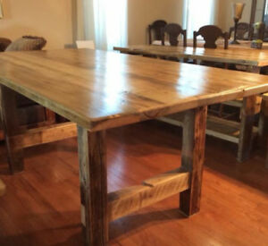 Rustic Dining Table!