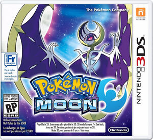 POKEMON MOON 3DS  ***Brand New-Factory Sealed***