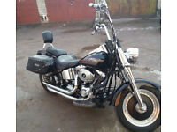Harley Davidson Softail Fatboy, not a Road king, dyna, sportster, delivery possible
