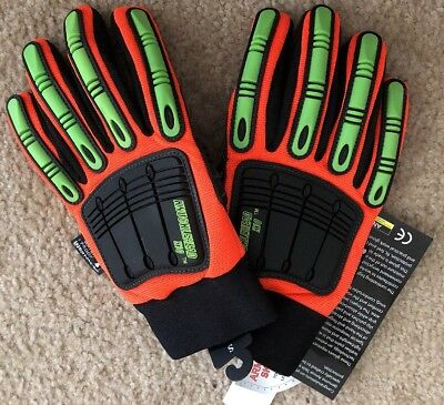 Majestic Knucklehead X10 Thinsulate Work Gloves Tough Synthetic Leather Small