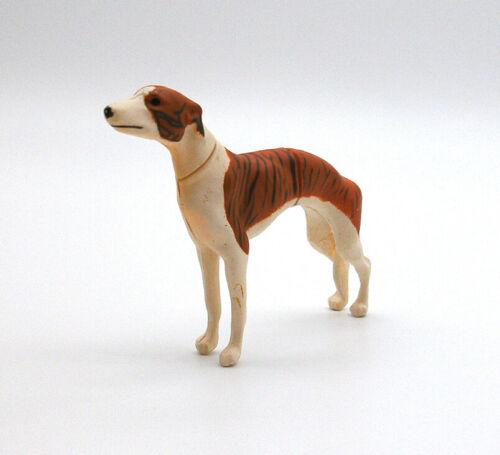 "Kaiyodo ChocoQ choco egg greyhound dog gacha figure toy 1"" Japan playset"