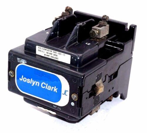 NEW JOSLYN CLARK 5003-2001-11 SIZE 3 CONTACTOR 5003200111