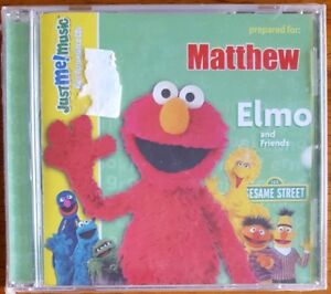 Matthew Personalized - Sing Along With Elmo and Friends CD - Sesame Street