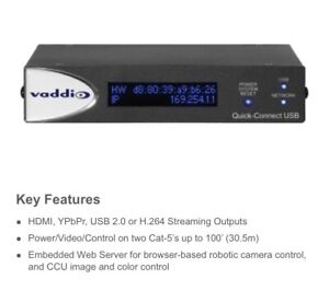 Vaddio Quick Connect USB Interface