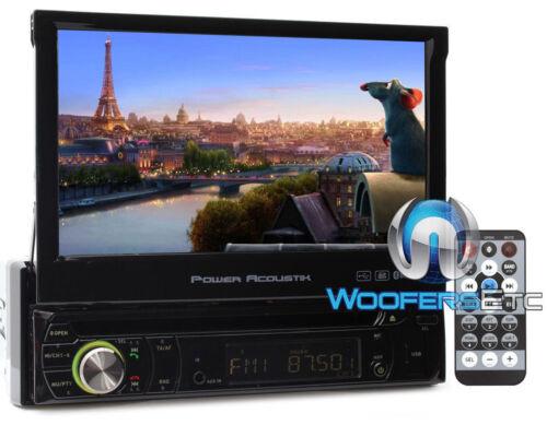 "7"" TFT LED LCD TV BLUETOOTH DVD CD MP3 MP4 USB SD AUX RADIO DETCHABLE STEREO"